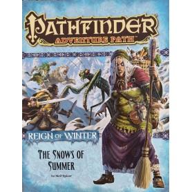 Pathfinder Adventurepath - Reign of Winter - Coleção Completa